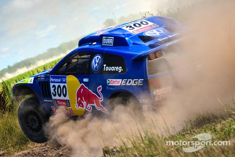 Volkswagen Motorsport prueban el #300 Volkswagen: Carlos Sainz y Lucas Cruz Senra