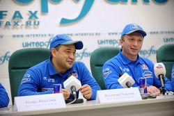 Kamaz-Master persconferentie bij het Interfax nieuwsagentschap: Ilgizar Mardeev en Vladimir Chagin