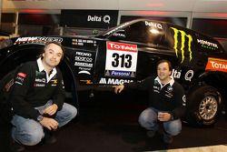 Présentation Delta Q BMW X-Raid : Ricardo Leal dos Santos et Paulo Fiuza