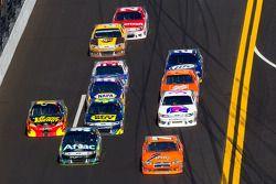 Robby Gordon, Robby Gordon Motorsport Dodge en Carl Edwards, Roush Fenway Racing Ford