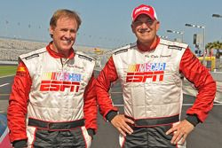 Rusty Wallace y Dale Jarrett