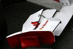 Scuderia Ferrari ön kanat detay