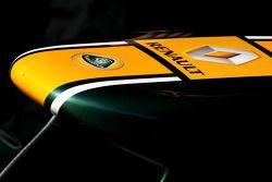 Team Lotus ön kanat detay