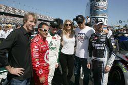 Transformer regisseur Maichale Bay, Juan Pablo Montoya, Earnhardt Ganassi Racing Chevrolet, Dale Ear