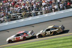 Brian Keselowski, Keselowski Dodge et Ryan Newman, Stewart-Haas Racing Chevrolet