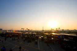 Zonsopgang over Daytona International Speedway
