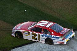 Race winnaar Trevor Bayne, Wood Brothers Racing Ford