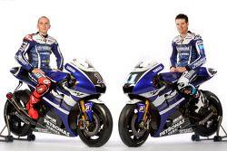 Jorge Lorenzo y Ben Spies con la Yamaha YZR-M1 2011