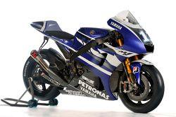La Yamaha YZR-M1 2011