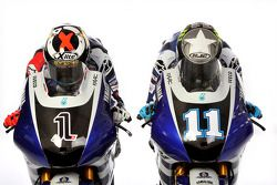 Jorge Lorenzo e Ben Spies con la Yamaha YZR-M1 2011
