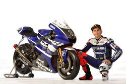Jorge Lorenzo with the 2011 Yamaha YZR-M1