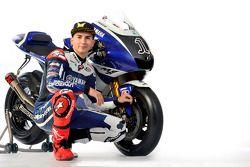 Jorge Lorenzo met de 2011 Yamaha YZR-M1