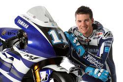 Ben Spies avec la Yamaha YZR-M1 2011