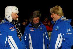Christian Loriaux, Malcolm Wilson and Gerard Quinn