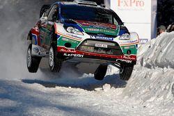 Mikko Hirvonen and Jarmo Lehtinen, Ford Fiesta RS WRC, Ford Abu Dhabi World Rally Team