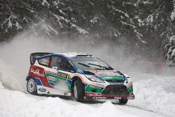 Jari-Matti Latvala and Miikka Anttila, Ford Fiesta RS WRC, Ford Abu Dhabi World Rally Team