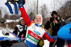 Winnaar Mikko Hirvonen