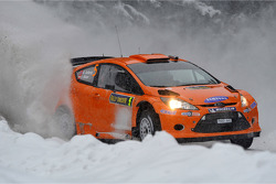 Henning Solberg et Ilka Minor, Ford Fiesta RS WRC, M-Sport Stobart Ford World Rally Team