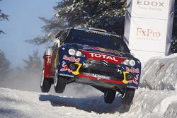 Sébastien Ogier et Julien Ingrassia, Citroën DS3 WRC,Citroën Total World Rally Team