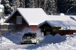 Per-Gunnar Andersson and Anders Fredriksson, Ford Fiesta RS WRC