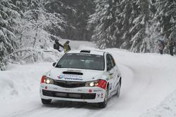 Anders Grondal and Maria Andersson, Subaru Impreza STI
