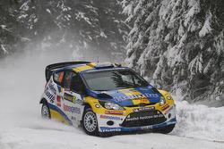 Per-Gunnar Andersson et Anders Fredriksson, Ford Fiesta RS WRC