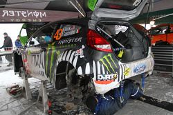 Ken Block, Ford Fiesta WRC, Monster World Rally Team