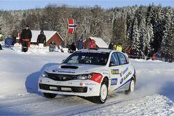 Anders Grondal et Maria Andersson, Subaru Impreza STI