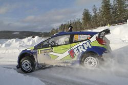 Dennis Kuipers and Frederic Miclotte, Ford Fiesta WRC