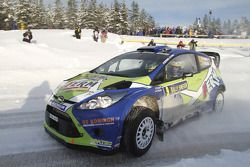 Dennis Kuipers et Frederic Miclotte, Ford Fiesta WRC