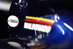 Williams FW33: Sticker