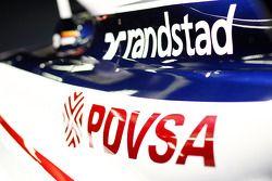 Williams FW33: Seitenpartie