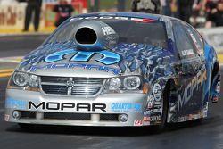 Allen Johnson in zijn nieuwe Team Mopar / J&J Racing Dodge Avenger