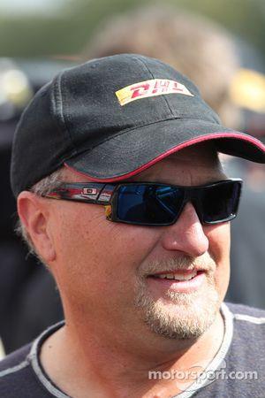 DHL Toyota Camry Funny Car Pilot, Jeff Arend