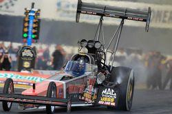 David Grubnic dans son dragster Kalitta Air Top Fuel