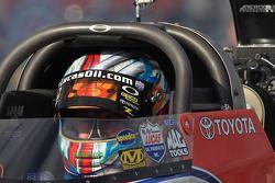 Shawn Langdon dans son dragster Lucas Oil / Speedco Top Fuel