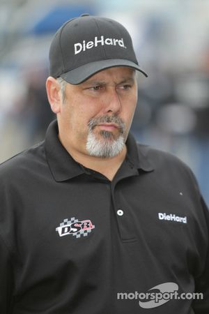 Tommy DeLago, crew chief Matt Hagan's Diehard Dodge Charger Funny Car