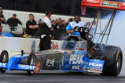 T. J. Zizzo burnout, Peak Motor Oil / Herculiner Top Fuel Dragster