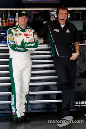 Dale Earnhardt Jr., Hendrick Motorsports Chevrolet en crew chief Steve Letarte