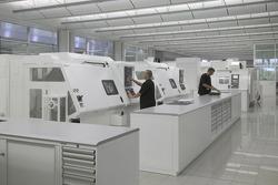 Un magasin de machines