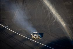 Ryan Newman, Stewart-Haas Racing Chevrolet heads to pit road with damage