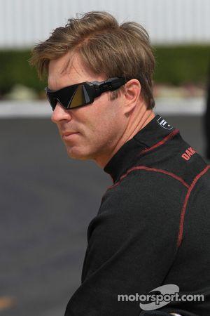 Mike Neff, rijder van de Castrol GTX Ford Mustang Funny Car