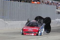 Bob Tasca gebruikt parachute Motorcraft / Quick lane Ford Mustang