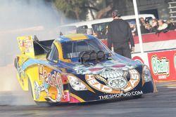 Jim Head burnout, Head Racing Toyota Camry