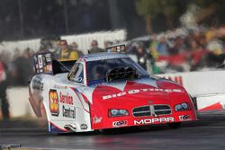 Johnny Gray in zijn Service Central Funny Car