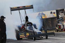 Troy Buff, burnout, BME / Okuma Top Fuel Dragster