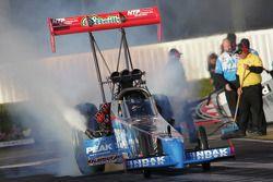 T. J.. Zizzo, burnout, Peak Performance Top Fuel Dragster