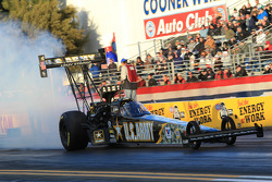 Tony Schumacher burnout, US Army Top Fuel Dragster