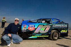 Living legends of auto racing beach parade: Bobby Varin