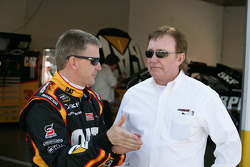 Jeff Burton, Richard Childress Racing Chevrolet and Richard Childress